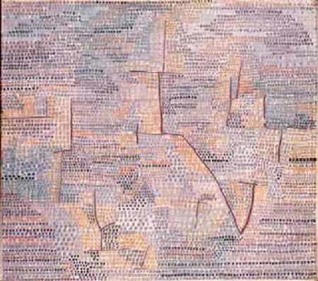 Paul Klee-Entlegene Landschaft (Remote Landscape)-1931