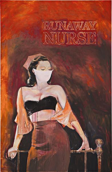 Richard Prince-Runaway Nurse-2006