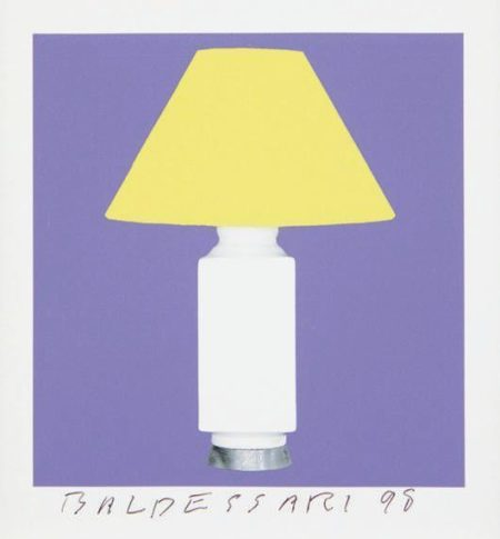 John Baldessari-8 Lamps x 6 = 48, One plate-1998