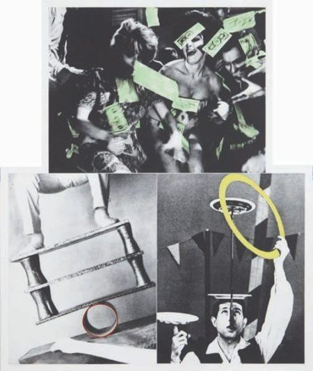 John Baldessari-Life's Balance (with Money)-1990
