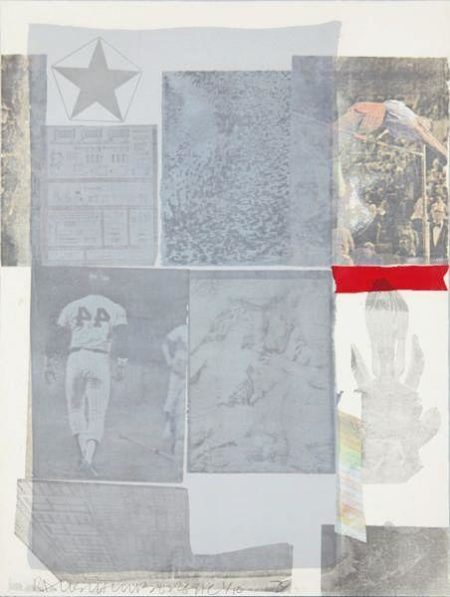 Robert Rauschenberg - Back out-1979