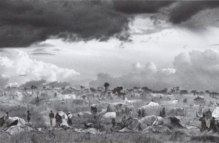 Sebastiao Salgado-The First Day of Installation of the Camp of Benako for the Rwandan Tutsi and Hutu Refugees, Tanzania-1994