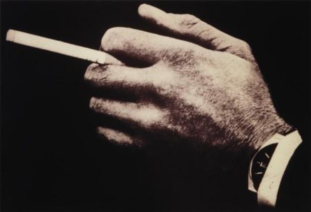 Richard Prince-Untitled (Man's Hands With Cigarette And Watch)-1980