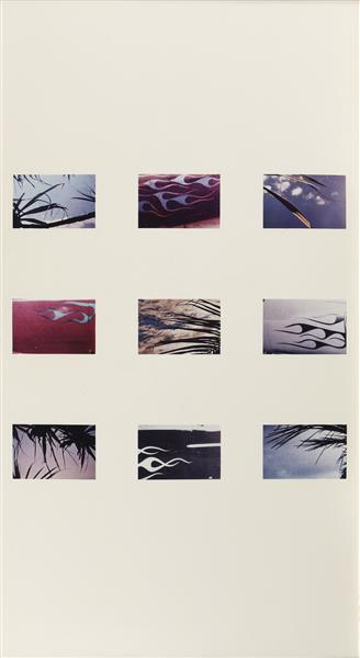 Richard Prince-Untitled (Palms And Decals)-1990