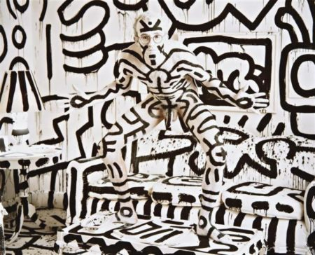 Annie Leibovitz-Keith Haring, New York-1986