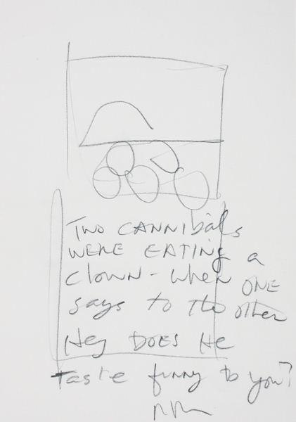 Richard Prince-Untitled (Joke Drawing)-1996