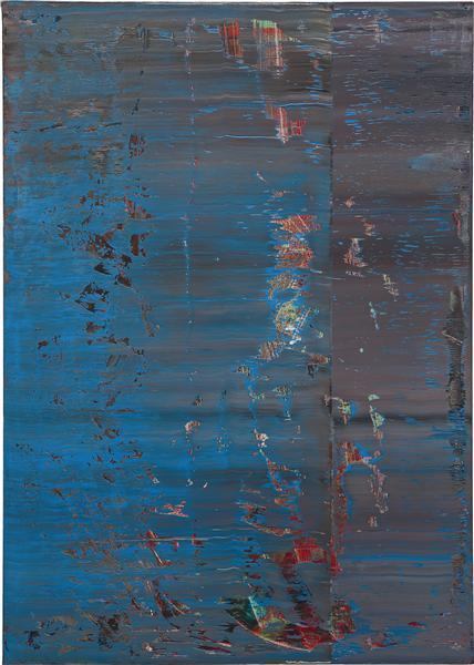 Gerhard Richter-Abstraktes Bild 638-4 (Abstract Painting 638-4)-1987