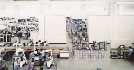 Andreas Gursky-Siemens Amberg-1991
