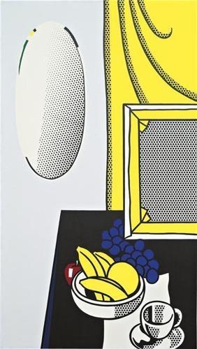 Roy Lichtenstein-Still Life With Mirror-1972