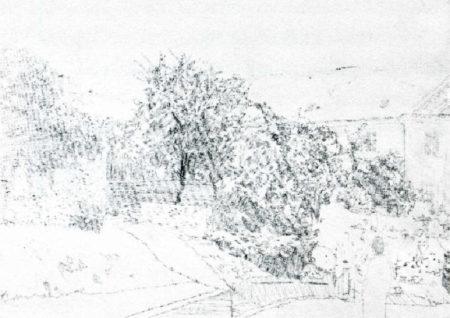 Gerhard Richter-Dorf (Village)-1987