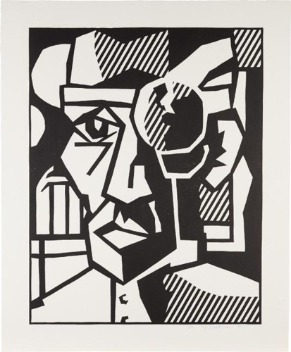 Roy Lichtenstein-Dr. Waldmann (Black State)-1981