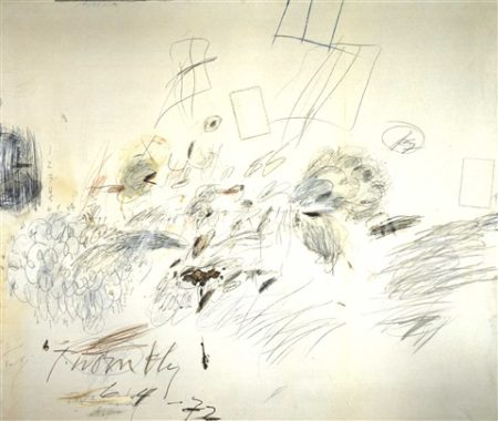 Cy Twombly-Munich, Rome-1972