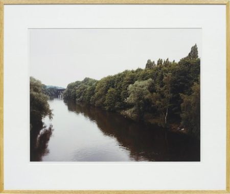 Andreas Gursky-Angler, Muhleim an der Ruhr-1989