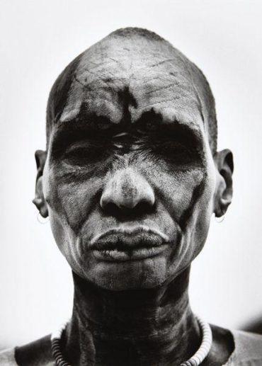Dinka Man at Cattle Camp of Kei, Southern Sudan