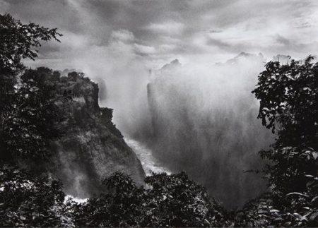 Sebastiao Salgado-Victoria Falls, Zimbabwe from Genesis-2008