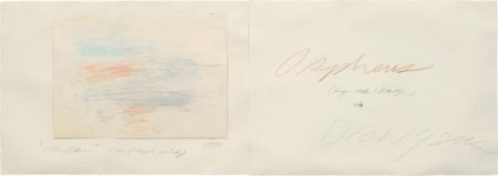 Cy Twombly-Allusion (Bay of Napoli, Part II)-1975