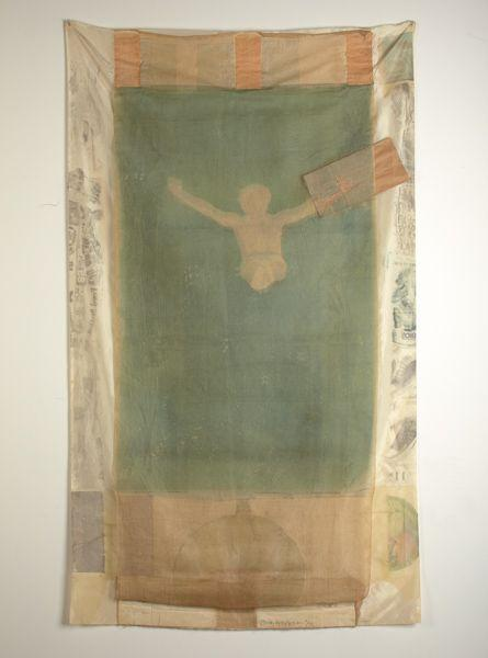 Robert Rauschenberg - Pull (From Hoarfrost Edition Series)-1974