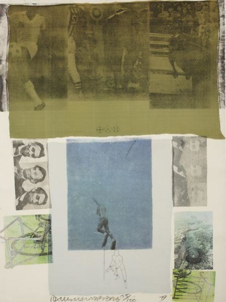 Robert Rauschenberg-Robert Rauschenberg - Shoot From The Main Stem (From Suite Of Nine Prints)-1979