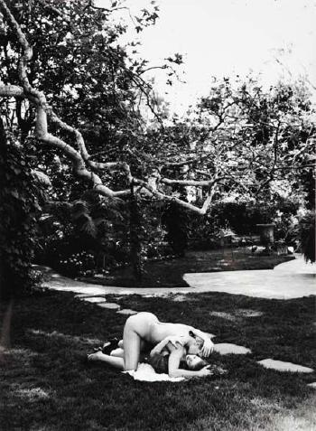 Helmut Newton-In Robert's Garden, Beverly Hills-1991