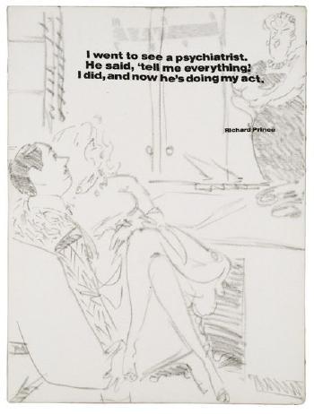 Richard Prince-Cartoon-1988
