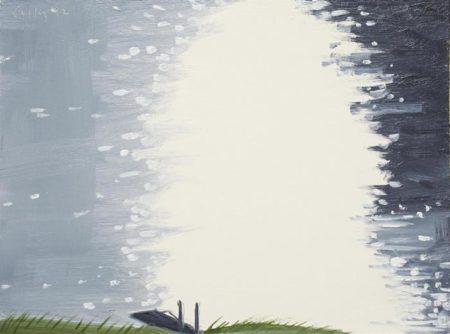 Alex Katz-Untitled (Study for Lake Light)-1992
