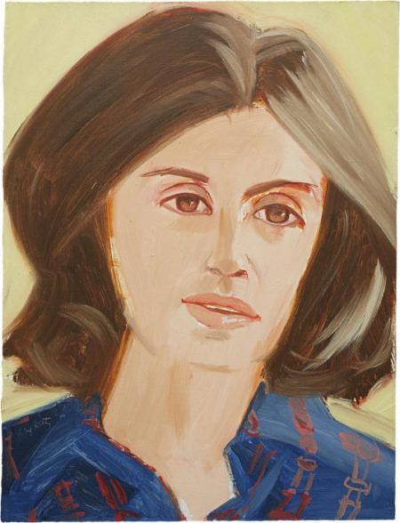 Alex Katz-Portrait of a Woman / Woman-1980