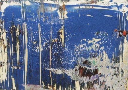 Gerhard Richter-Abstract 23.3.89-1989
