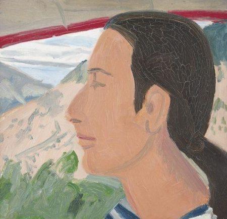 Alex Katz-Study for Impala-1968