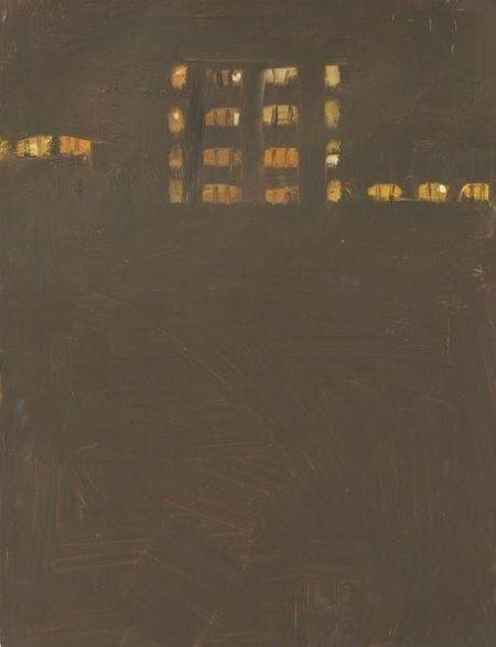 Alex Katz-Orange Lights-1997