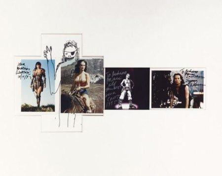 Richard Prince-Lucy Lawless, Linda Carter, Lara Croft, Sigourney Weaver-1999