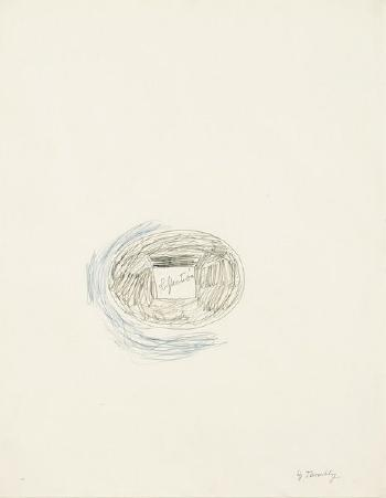 Cy Twombly-Reflection-1965