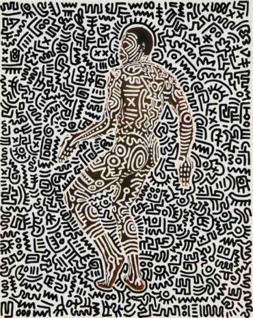 Keith Haring - Untitled (Bill T. Jones)