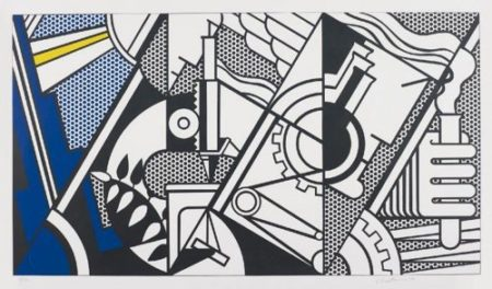Roy Lichtenstein-Peace Through Chemistry IV-1970