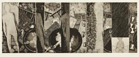 Jasper Johns-The Seasons (ulae 244)-1989