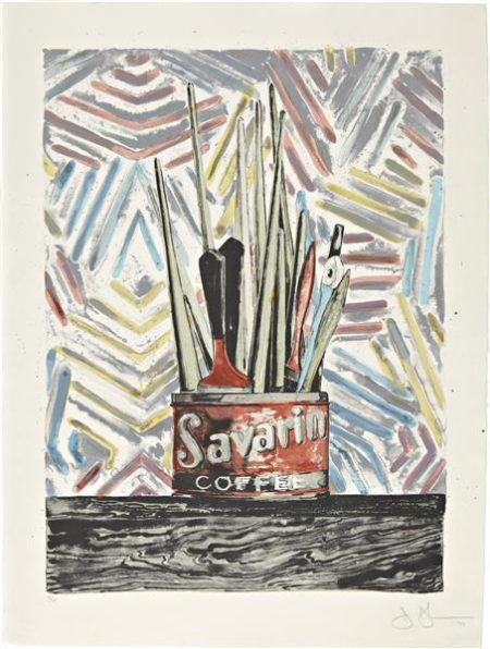Jasper Johns-Savarin (ULAE 183)-1977