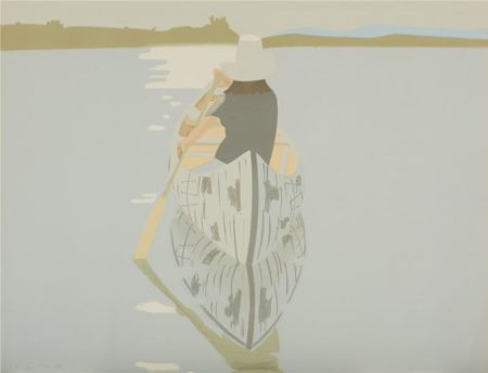 Alex Katz-Good Afternoon 2 / Gray Rowboat (Maravell 78; Schroder 80)-1975