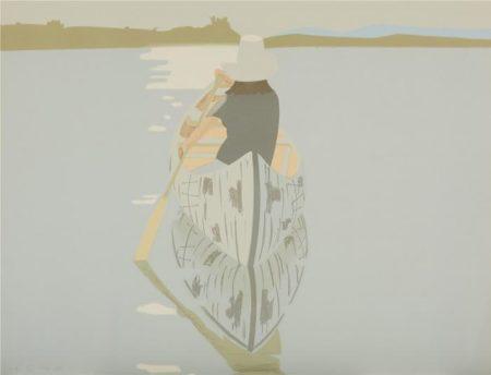 Alex Katz-Good Afternoon 2 / Gray Rowboat (Maravell 78; Schroder 80)-1975