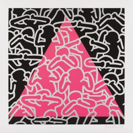 Keith Haring - Silence Equals Death-1989
