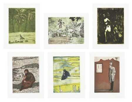 Peter Doig-Black Palms (Serie) / Untitled Portfolio-2004