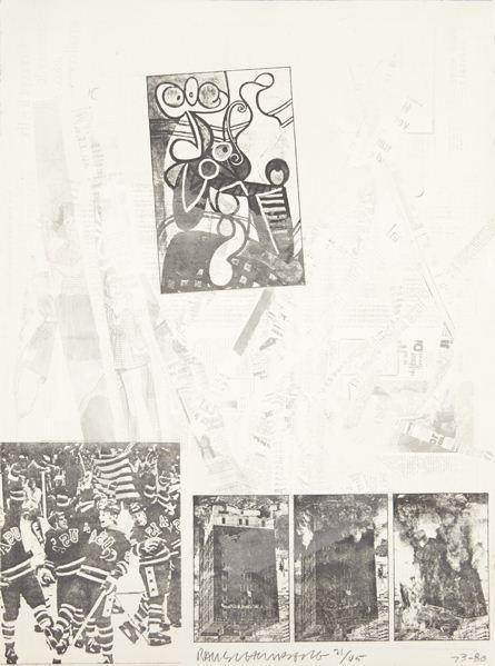 Robert Rauschenberg-Robert Rauschenberg - After homage to Picasso-1980