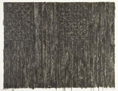 Jasper Johns-Flags II-1973
