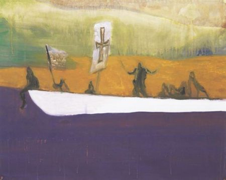 Peter Doig-Untitled (Canoe)-2008