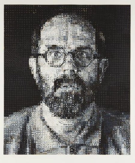Chuck Close-Self portrait-1995