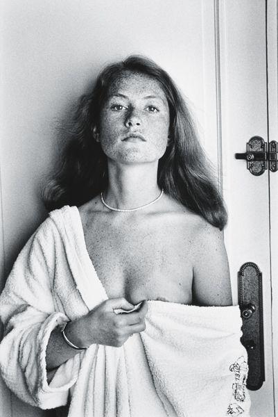 Helmut Newton-Isabelle Huppert At The Carlton, Cannes (1976)-1976