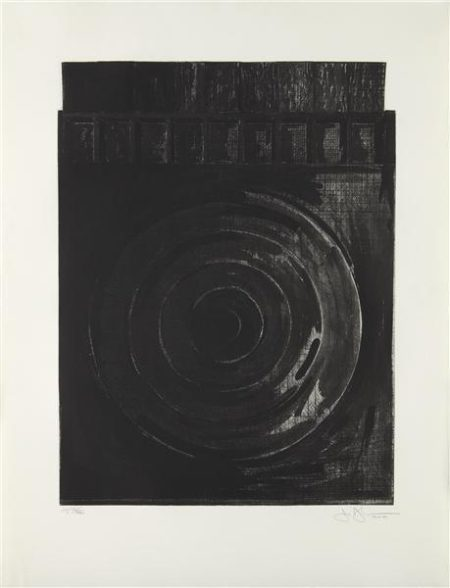 Jasper Johns-Target with Plaster Casts-1990