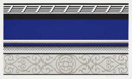 Roy Lichtenstein-Entablature V-1976