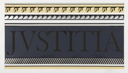 Roy Lichtenstein-Entablature X-1976
