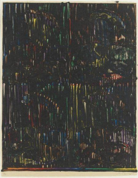 Jasper Johns-Afer Holbein-1994
