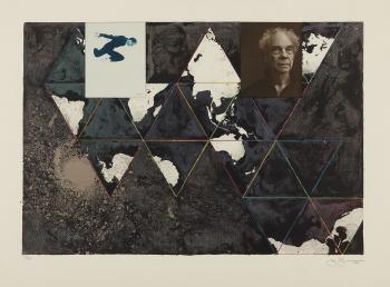 Jasper Johns-Ocean-1996