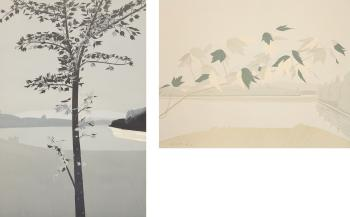 Alex Katz-Swamp Maple 2; Late July 2-1971